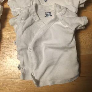 23e5f321e Gerber Shirts & Tops   Baby Kimono Tops Short Longsleeve 03 3 Mos ...